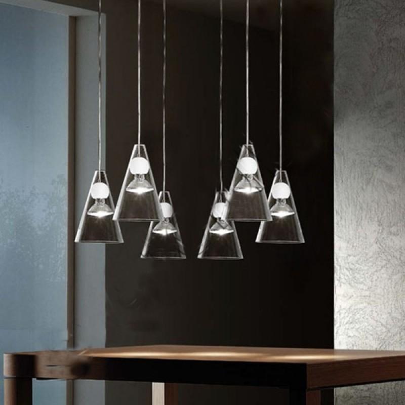 de majo laguna planet, lampadario di design 8 luci