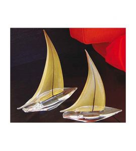 Gold Sailboats